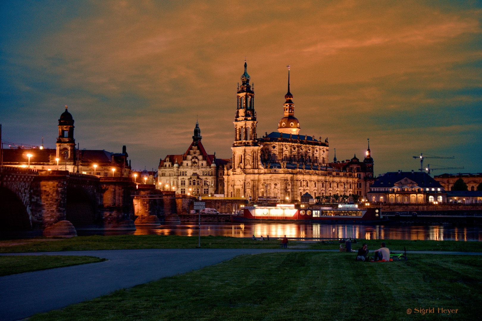 Nächtliches Dresden