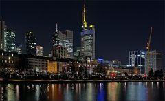 * Nächtliches Frankfurt *