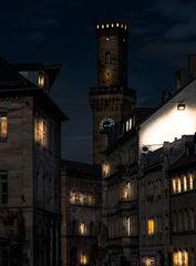 Nächtliches Fürther Rathaus