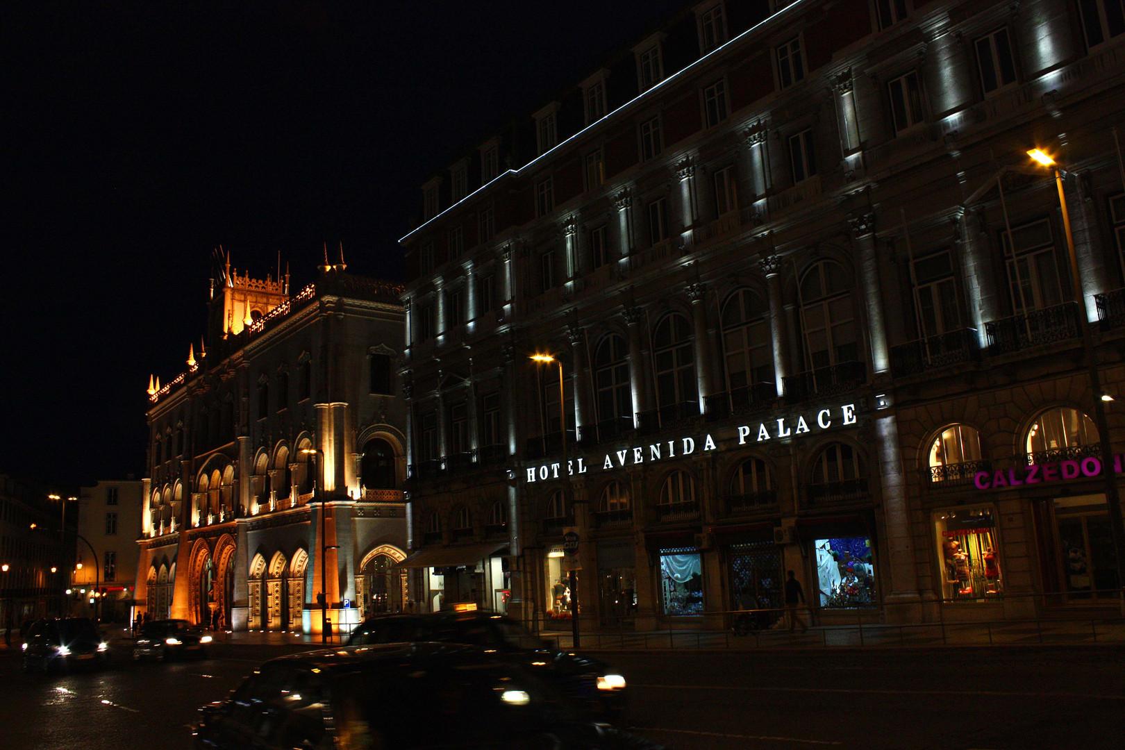 Nächtliches Lissabon 2