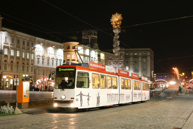 Nächtliches vom Linzer Hauptplatz