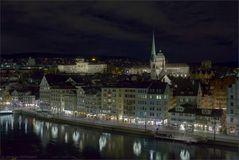 Nächtliches Zürich