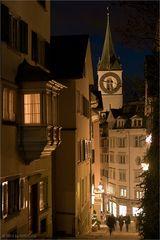 Nächtliches Zürich II