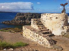 Nähe Hafen El Cotillo und Castillo de El Toston