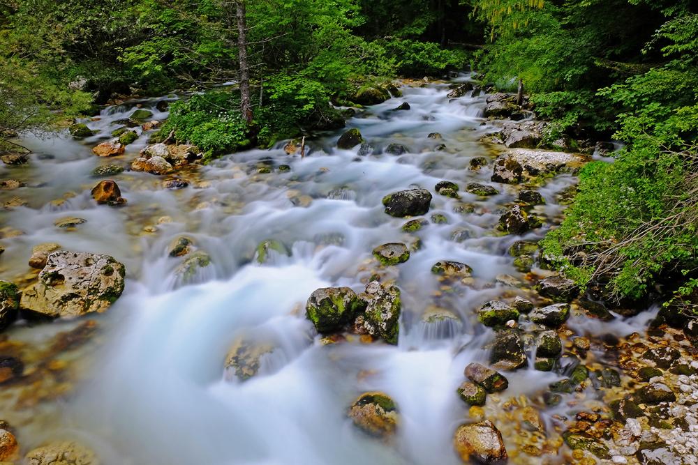 Nähe Savica Wasserfall