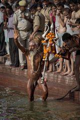 Naga Saddhu ~ Kumbh Mela