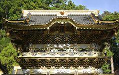 Nahansicht des Toshogu-Schreins