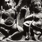 nahaufnahme im angkor tempel