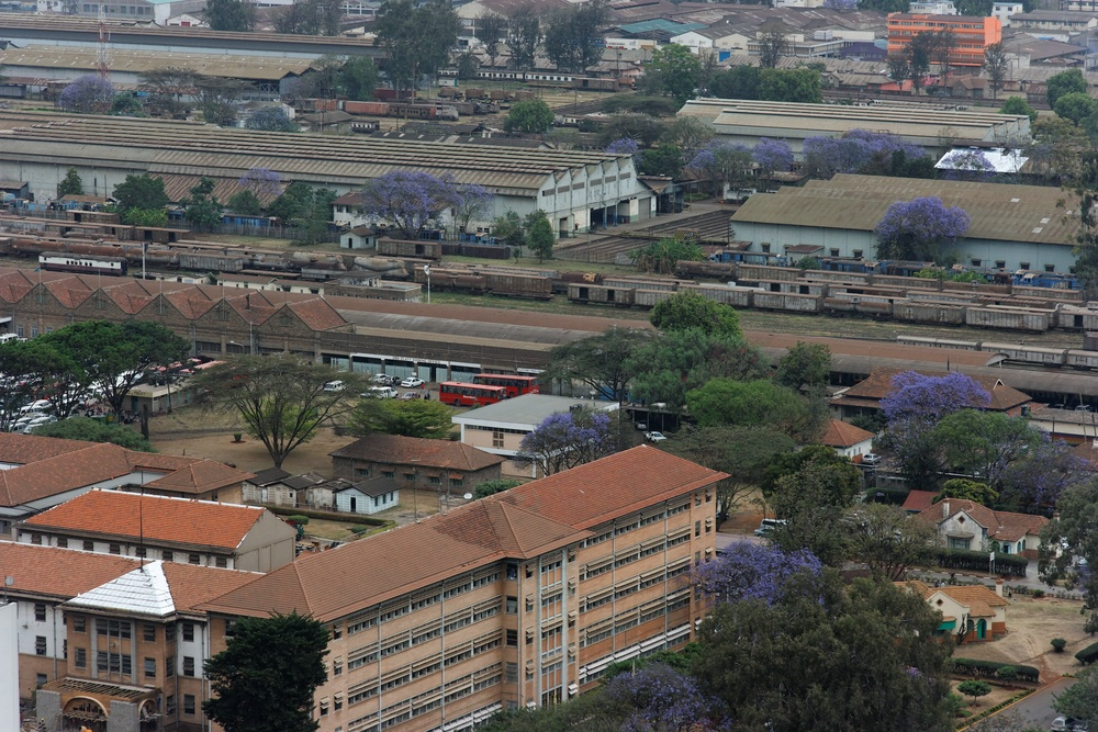 Nairobi Farbflecken