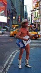 """"""" Naked Cowboy """""""