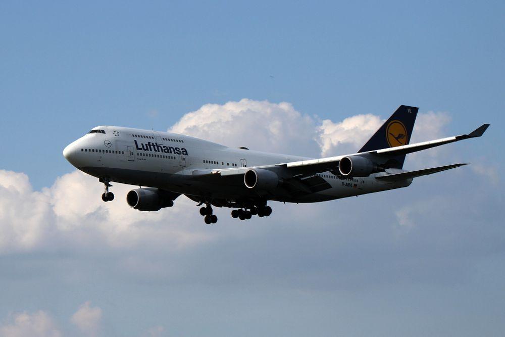 namenloser Lufthansa Jumbo