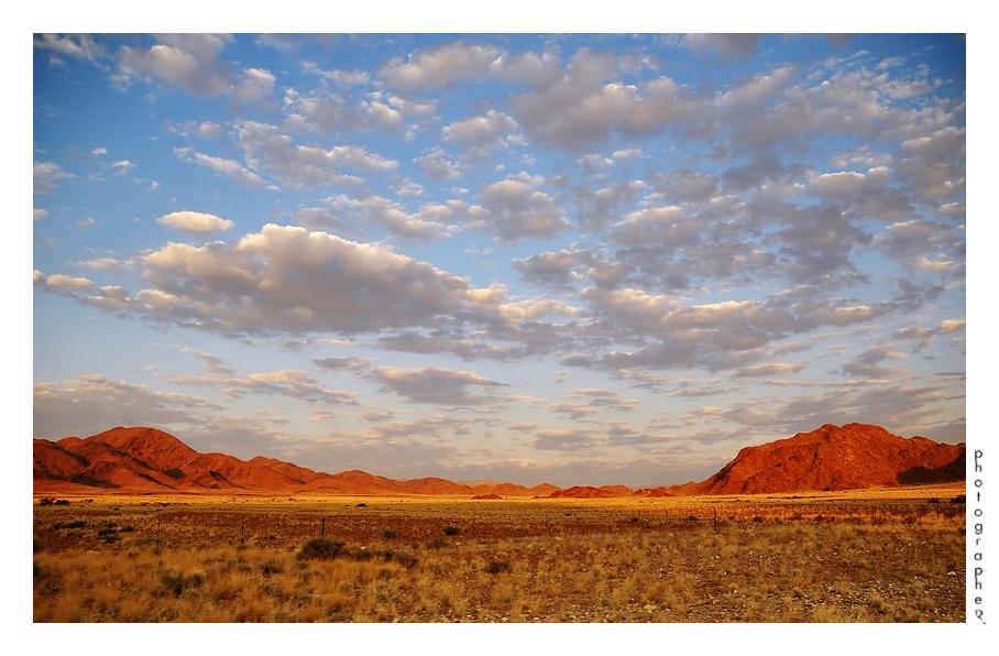 Namib abends