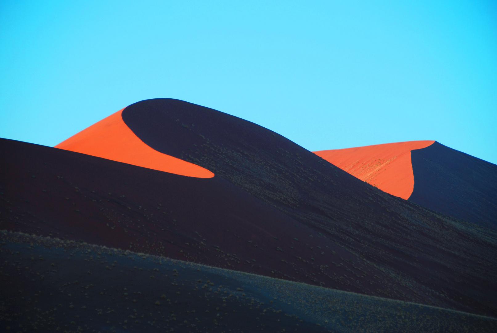 Namibia - Deserto Giochi d'ombre tra le dune