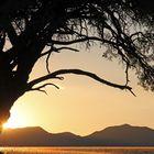 Namibia - die Sonne geht auf