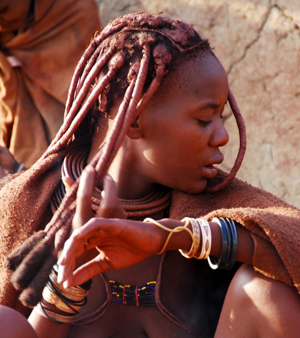 Namibia - Himba L'attimo nello scatto