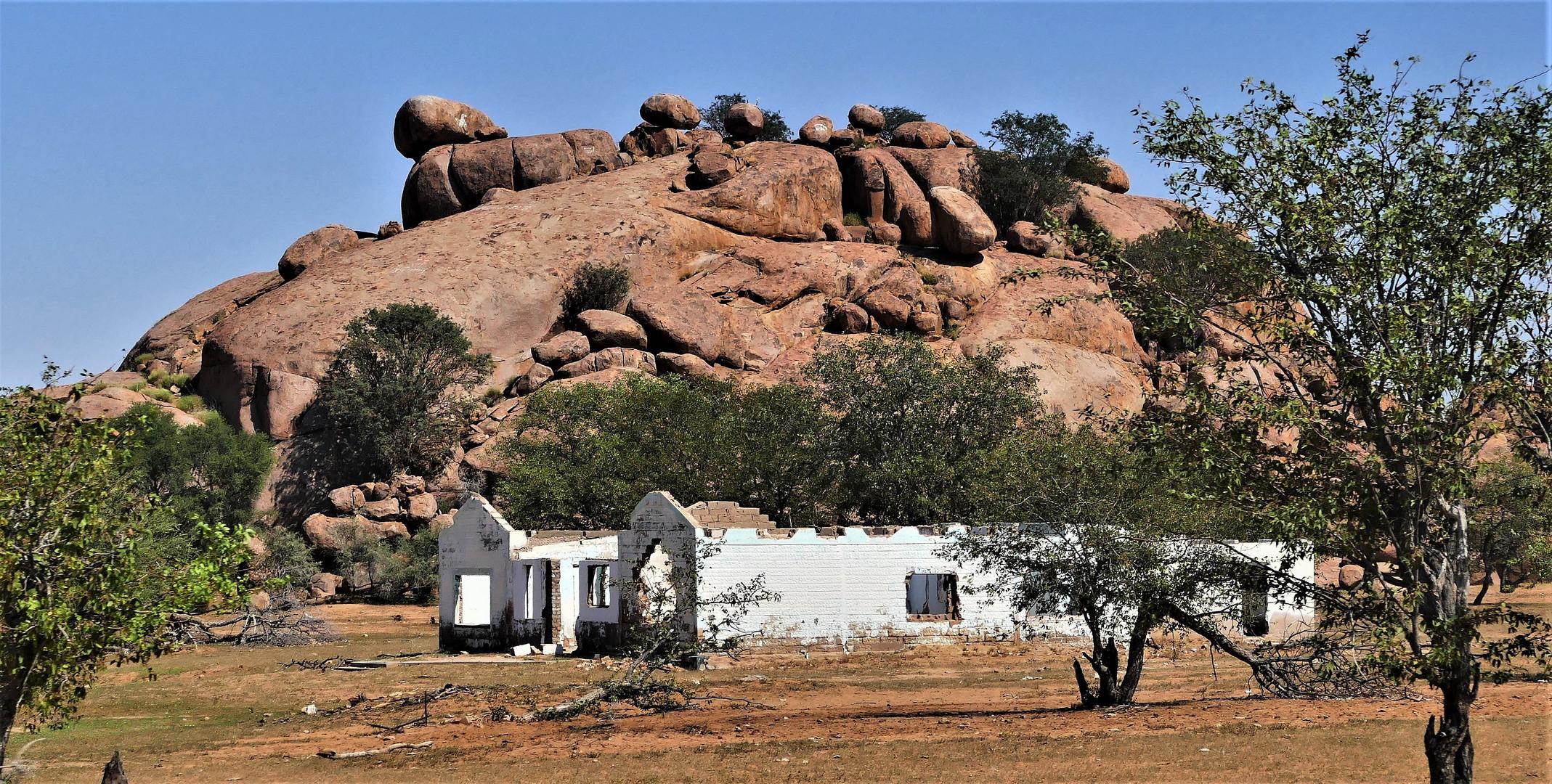 Namibia, im Damara Land