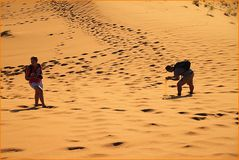 NAMIBIA - SAND oder Gold ?