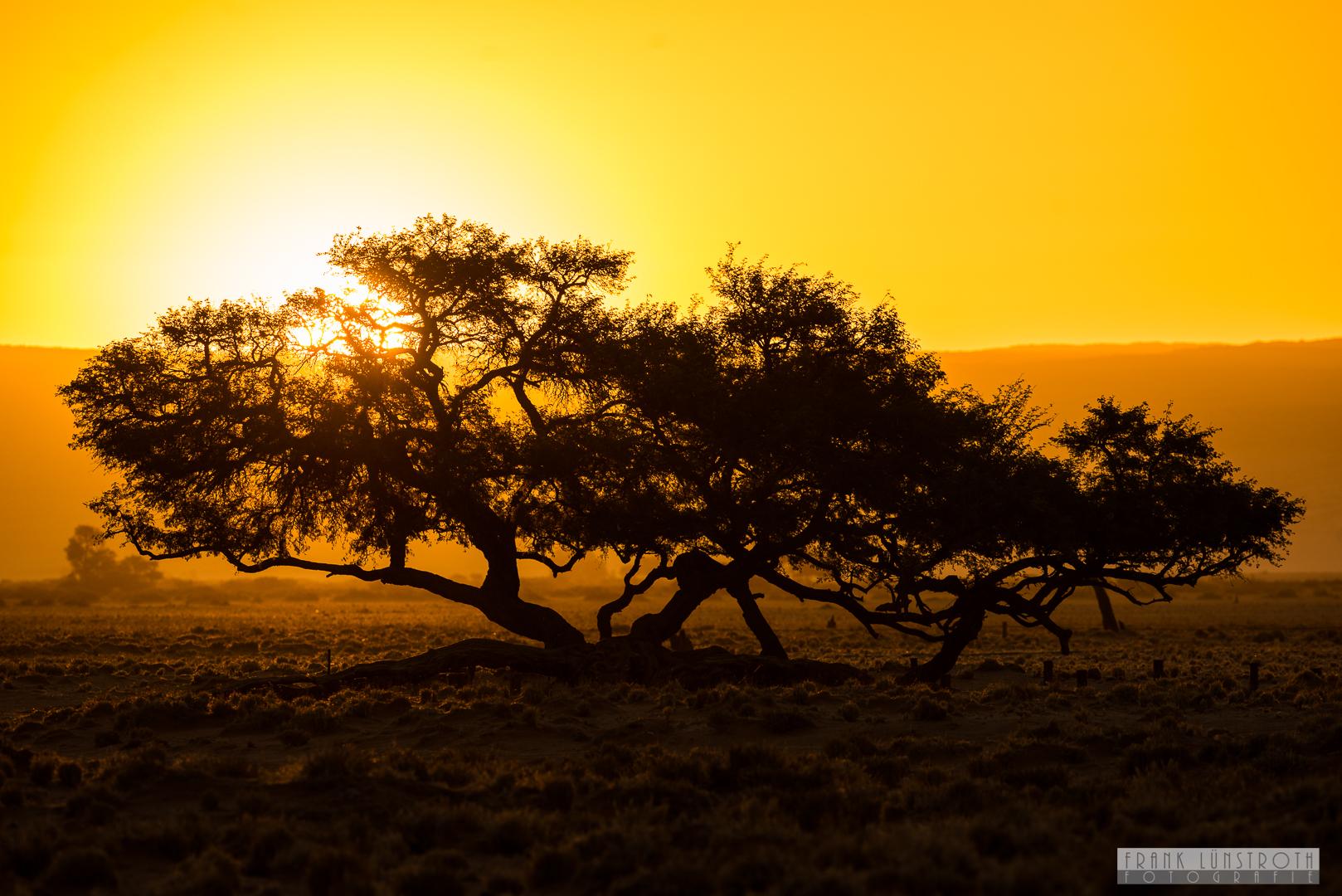 Namibia Sonnenuntergang