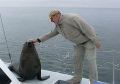Namibia - Swakopmund / Bootstour mit Robben an Bord