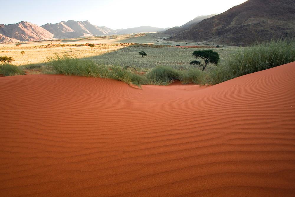 namibian red sands