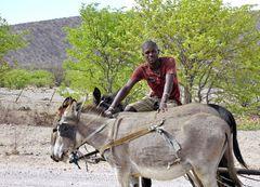 Namibischer Farmer