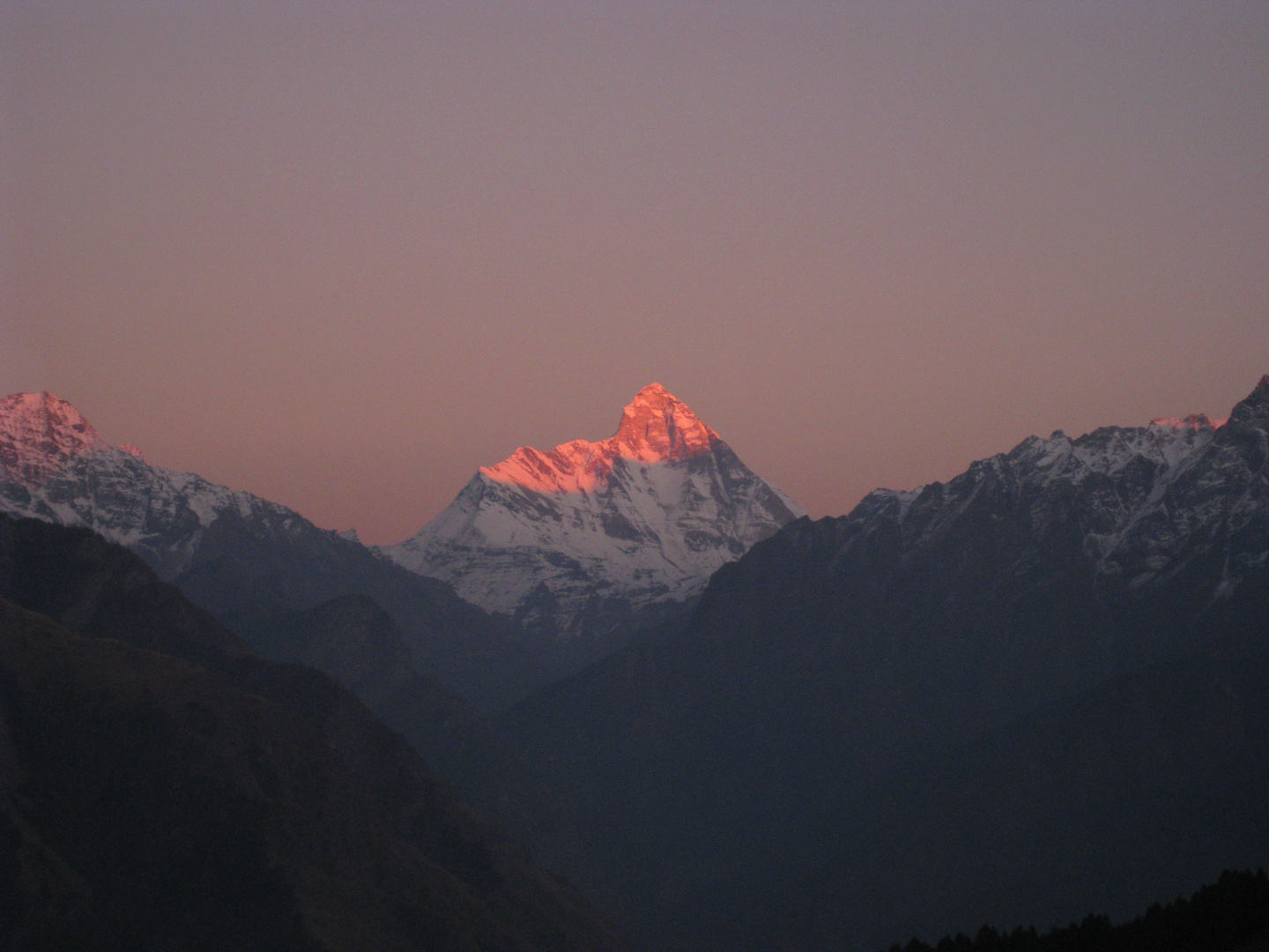 Nanda Devi - Evening mood
