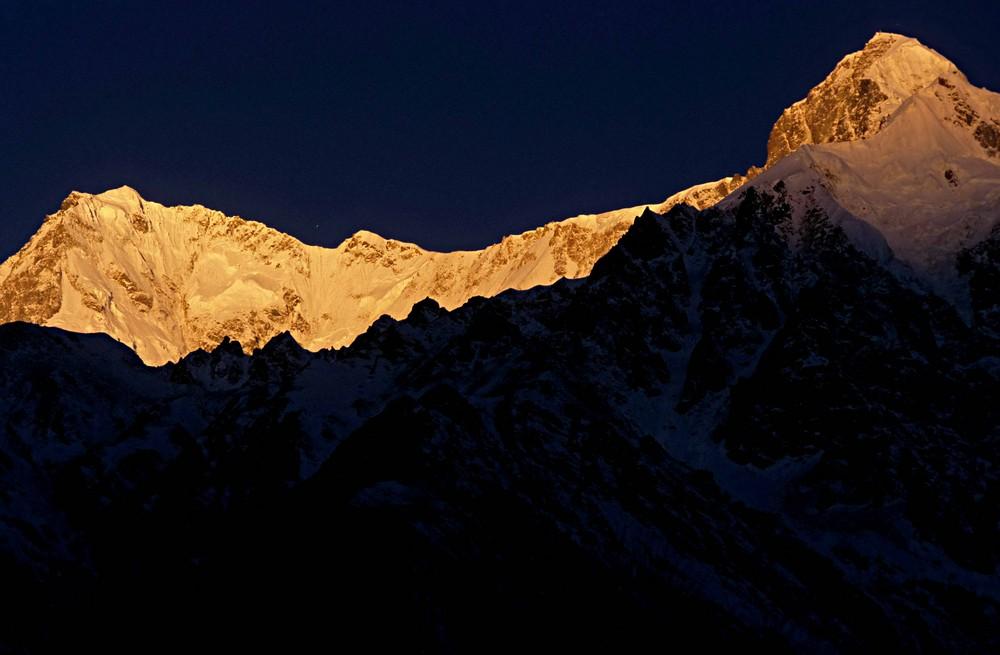 Nanga Parbat Sonnenaufgang