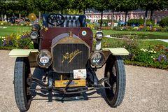 Napier Grand Prix GB 1907 bei Classic Cars 2018 Schwetzingen