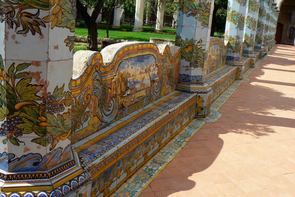 Napoli - Il giardino di un cenobio