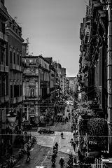Napoli - la Via Toledo
