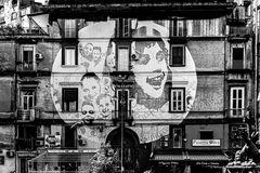 Napoli - Murales in piazza Sanità