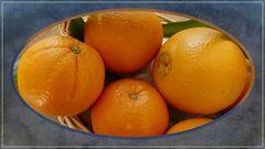 Naranjas jugosas