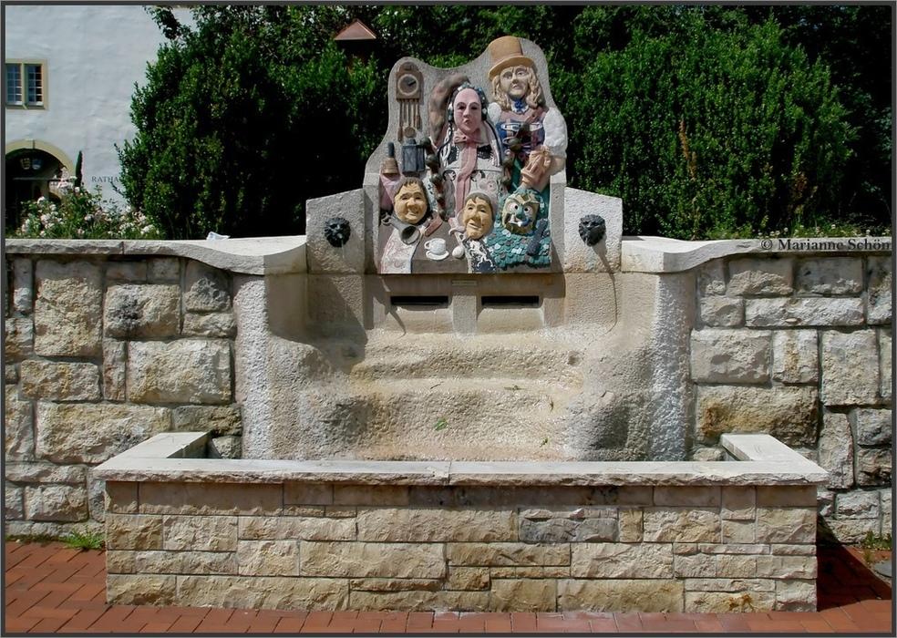 Narrenbrunnen...