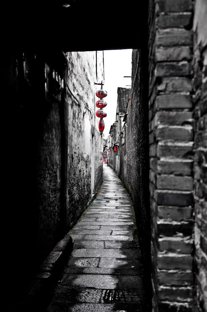 Narrow Alley in XI TANG