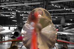 """""""Nase"""" einer Lockheed F-104"""