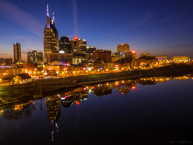 Nashville bei Nacht