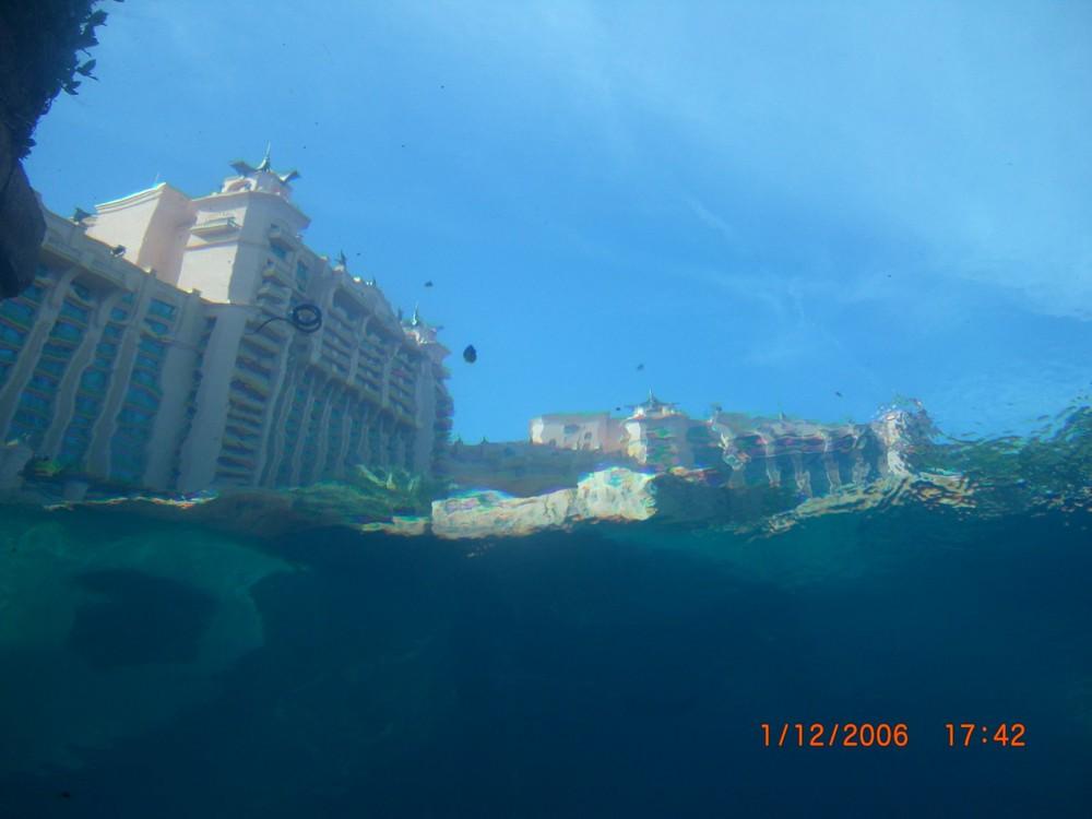 NASSAU BAHAMAS under water