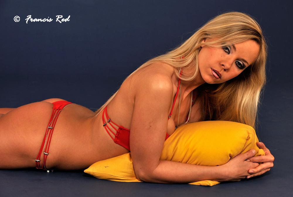 Natallia in Red #4