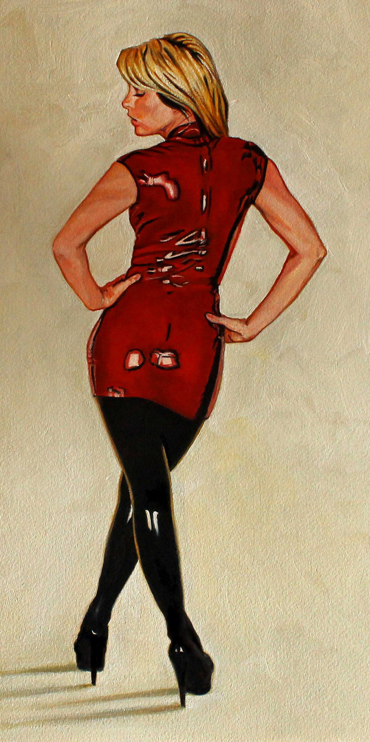 Natasha - rot/schwarz
