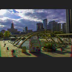 Nathan Philips Square 3-D