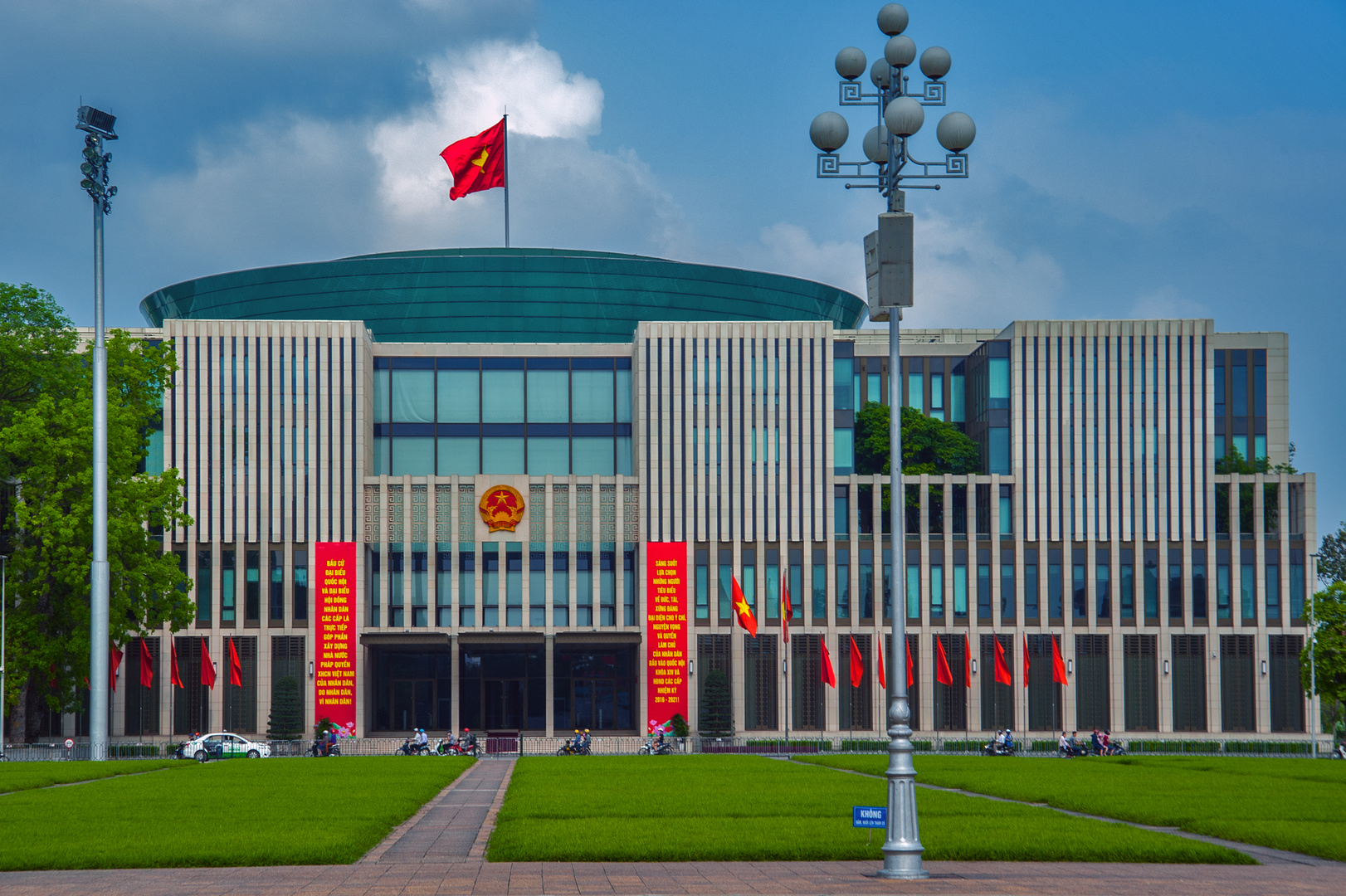 National Assembly Building in Hanoi
