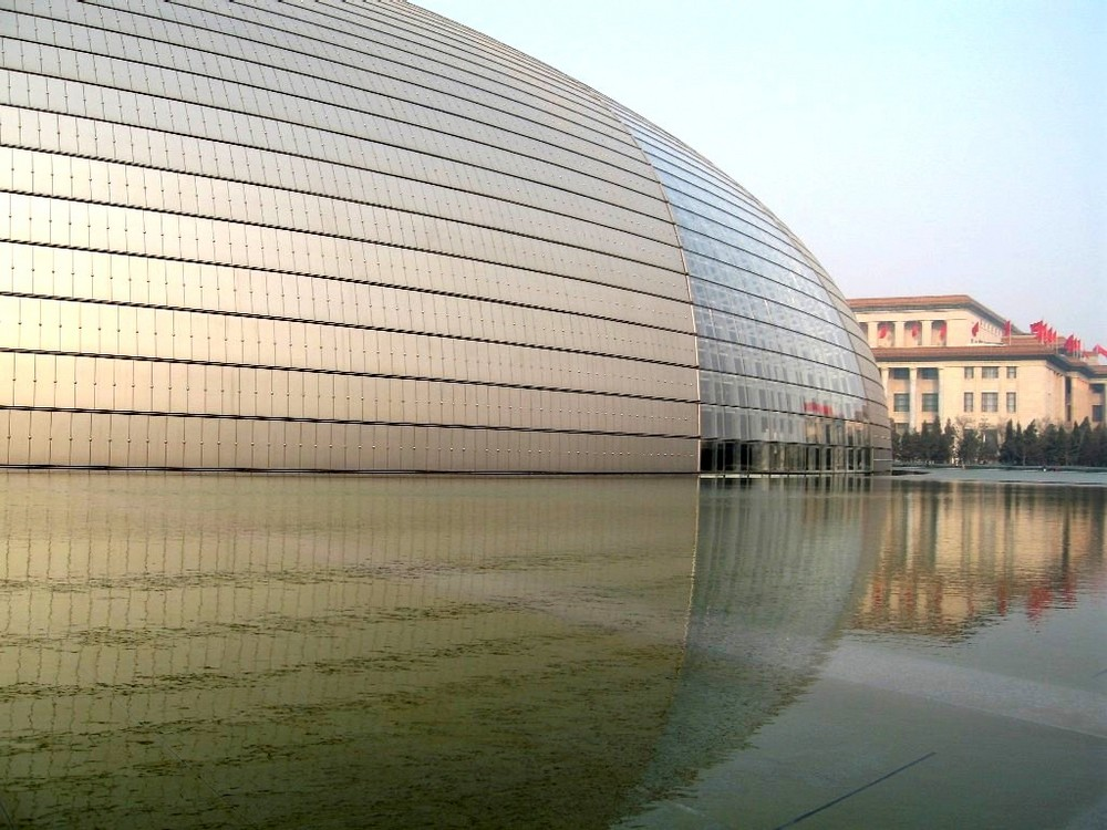 National Grand Theatre of China in Beijing