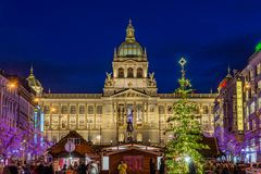Nationalmuseum mit Christbaum