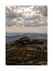 """Nationalpark Harz """" Blick vom Brocken, zum Wurmberg aus meiner Sicht...."""""""
