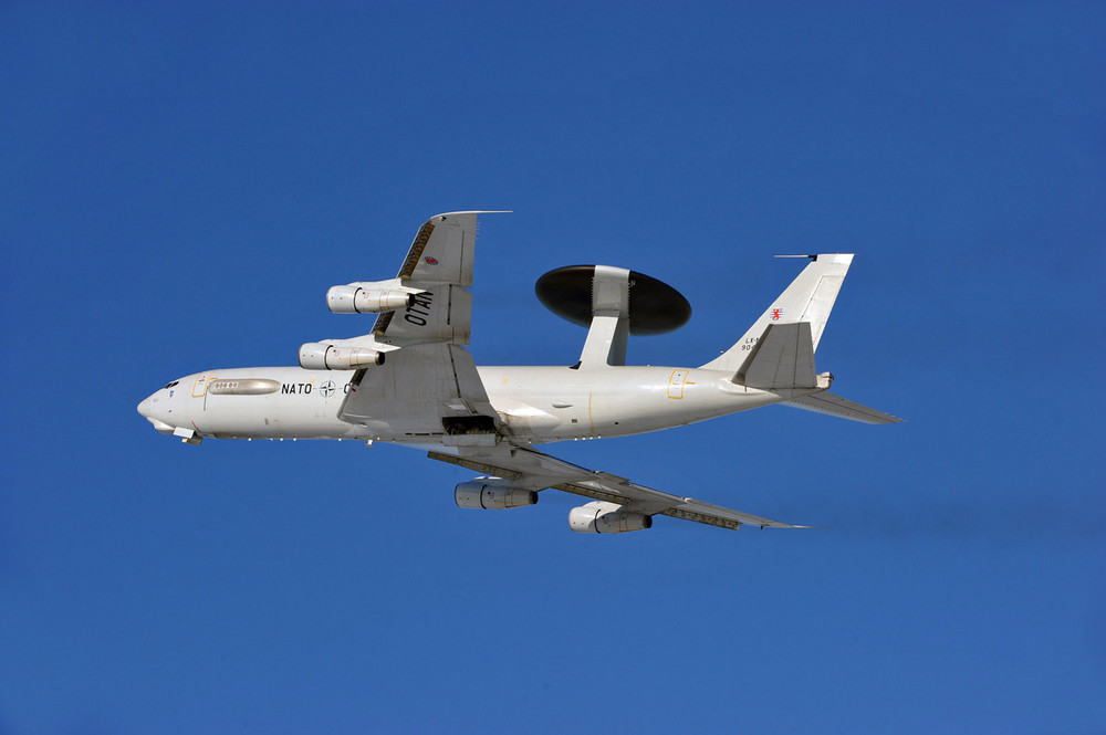 NATO E-3A beim Start