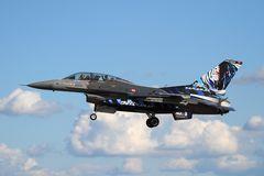 NatoTiger Meet 2014 #18 Lockheed Martin F-16DJ Fighting Falcon
