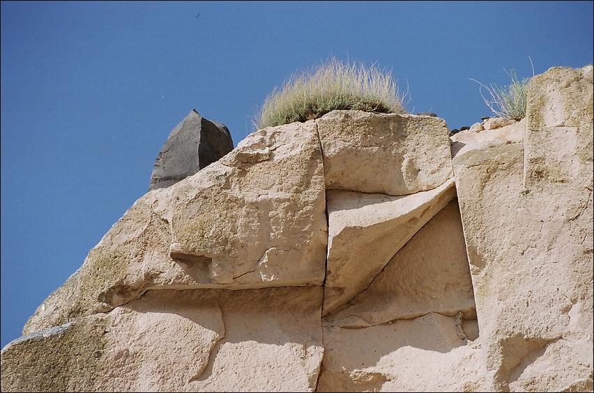 natürliche Steinskulptur