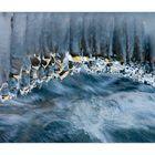 Natur-Bach- Foto-Kunst - oder: Panflötenmusik des Winters