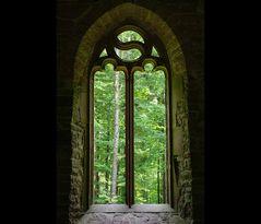 Natur-Kirchenfenster