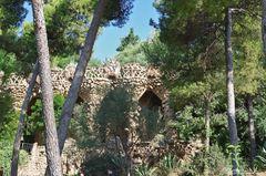 Natur-Nachahmung im Park Güell